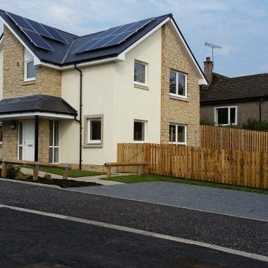 Housing Development for Stirling Council – Thornhill